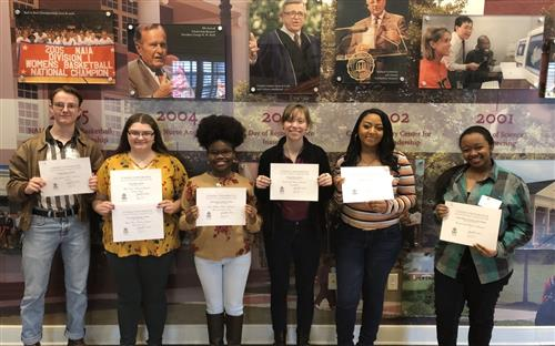 Madison Students win in Creative Writing