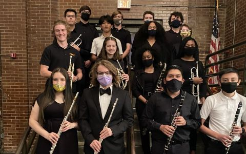 Madison Band Students