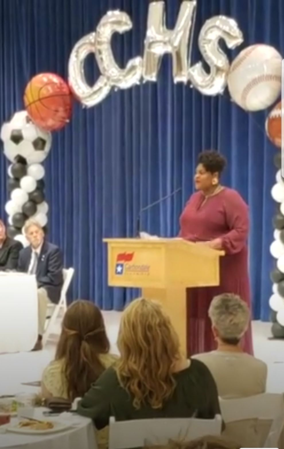 Kameilah Amaya-Allen Inducted to Carbondale, IL Sports Hall of Fame