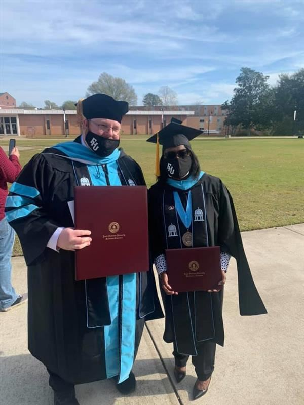 Congratulations Dr. Lewis and Ms. Davis!
