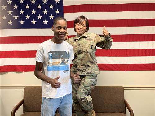 JCM-ECH Student Joins the Army!