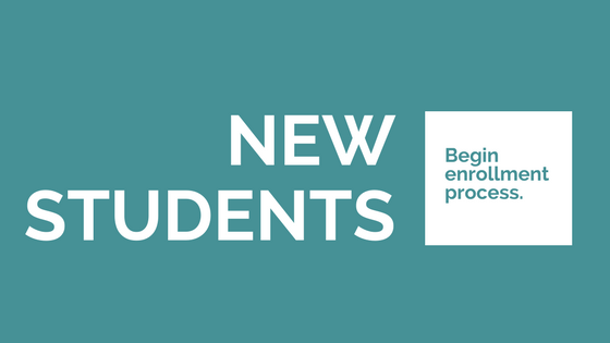 New students click here to begin the enrollment process.