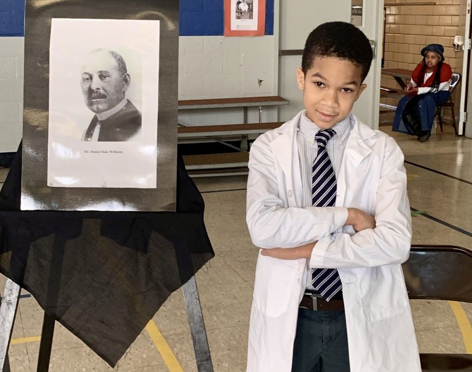 Alexander Students Participate in Living History Museum