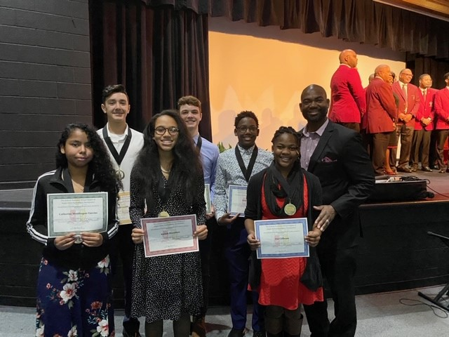 Kappa Alpha Psi Recognizes Outstanding Students