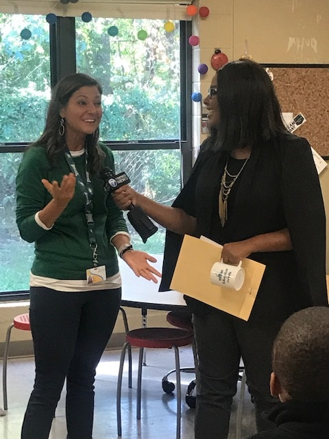 Mrs. Jill Tanner is Educator of the Week!