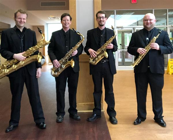 Rose Hill Band Teacher Jeff McLemore (2nd from left)