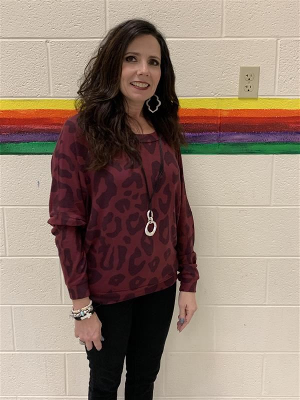 Vonda Wilson celebrates being named South Elementary Teacher of the Year