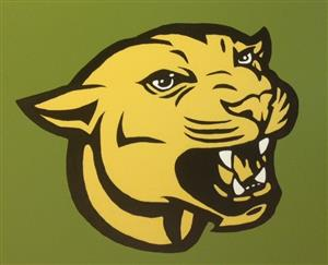 yellow cougar head