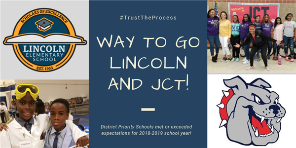 Way to Go Lincoln and JCT!