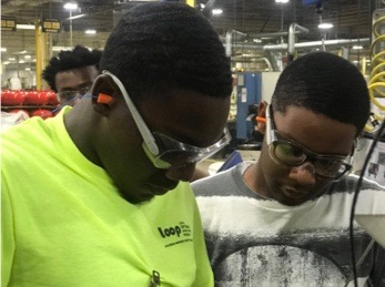 LOOP Students work in Manufacturing Sector