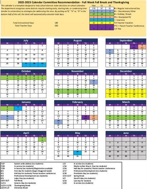 Cms Calendar 2022 23.Public Review Of School Calendar