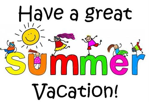 Have a Safe and Happy Summer !