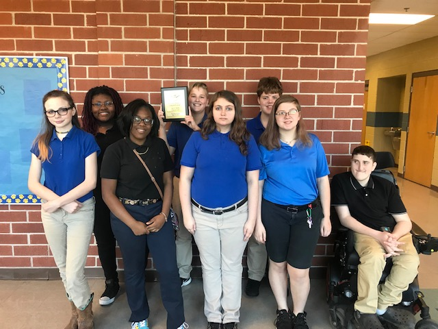Members of the WBMS Band that attended the festival.
